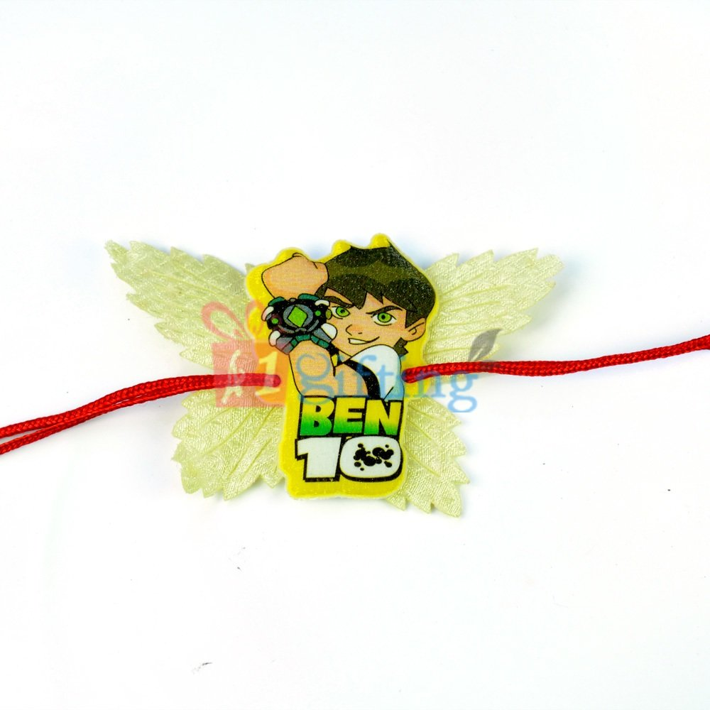Amazing Ben10 Butterfly Kids Rakhi