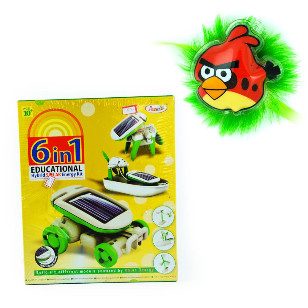 Solar Energy-6 in 1 Games n Angry Birds Kids Rakhi