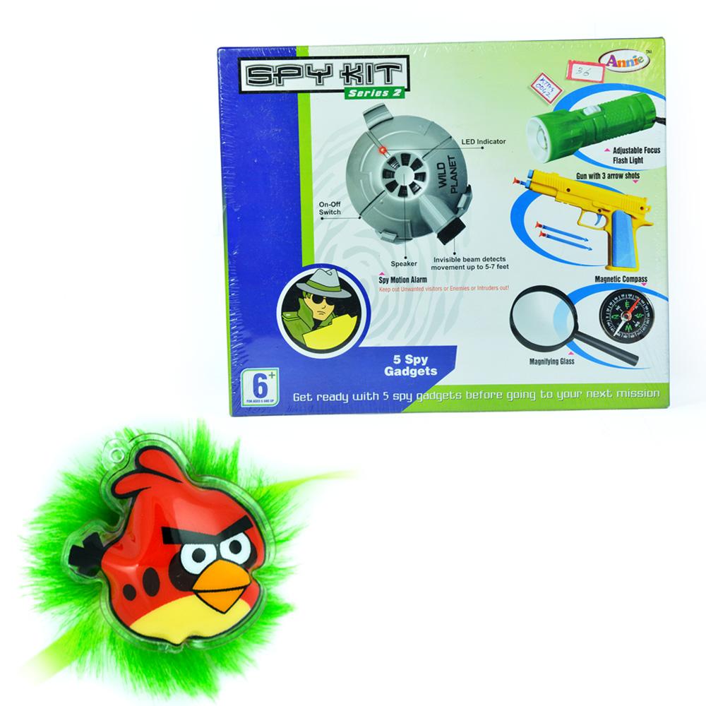 Spy Kit Series-2 with Angry Birds Rakhi for Children