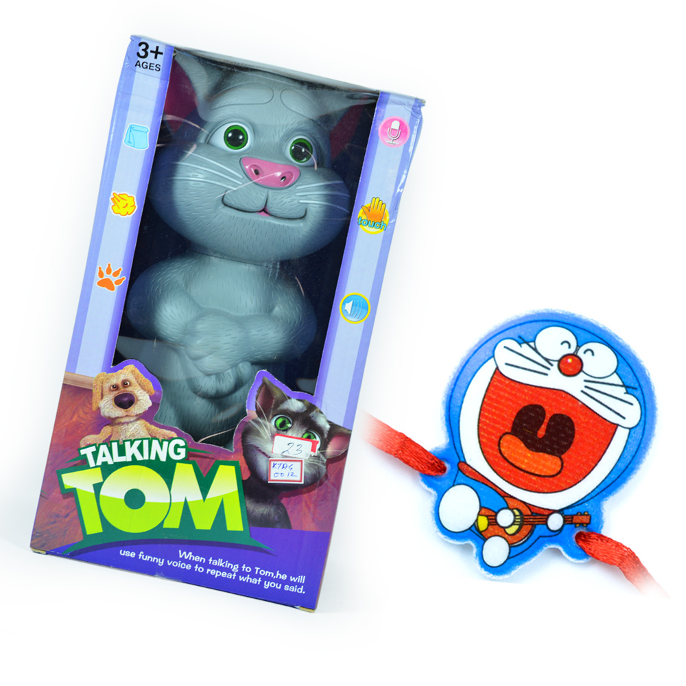 Talking TOM with Doraemon Children Rakhi