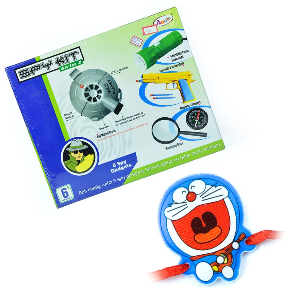 Spy Kit Series-2 n Doraemon Kids Rakhi