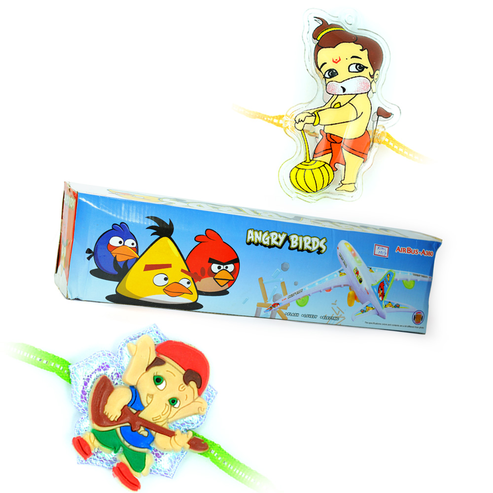 Solar Energy-6 in 1 Games n 2 Kids Rakhis