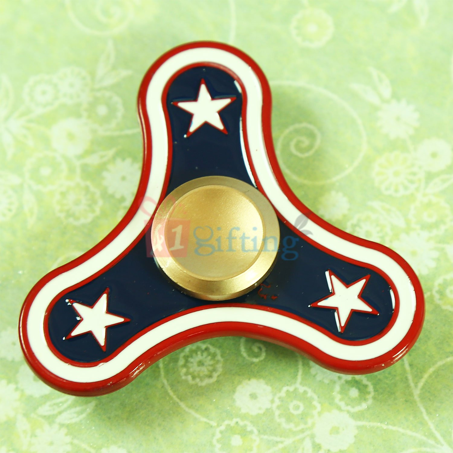 Captain America Star Metalic Superb Quality Spinner