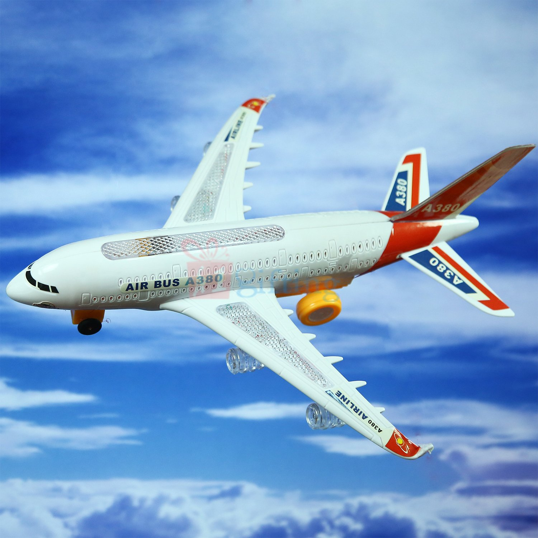 Air Bus A380 Kids Toy Gift Airplane