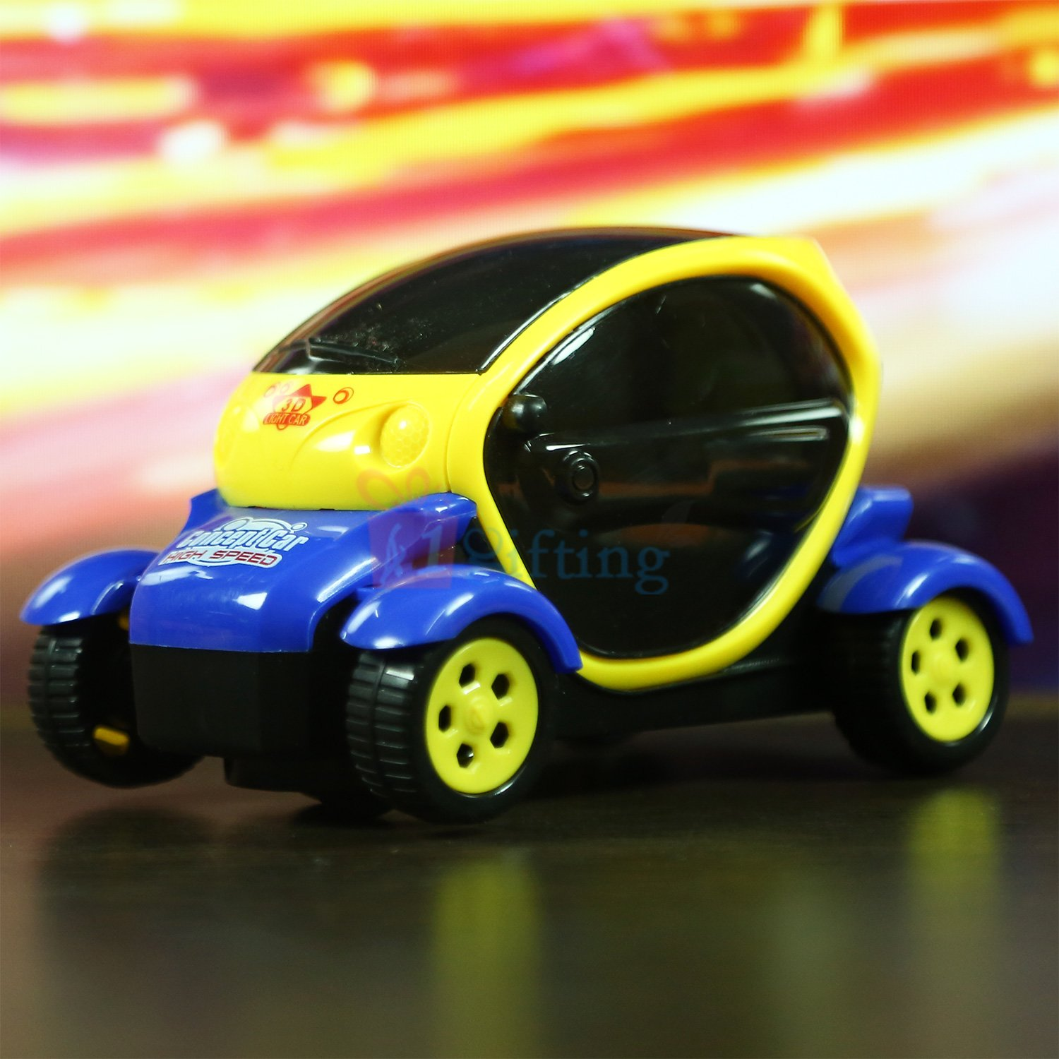 Auto Turning Chhota Bheem Racing Car Toy for Kids