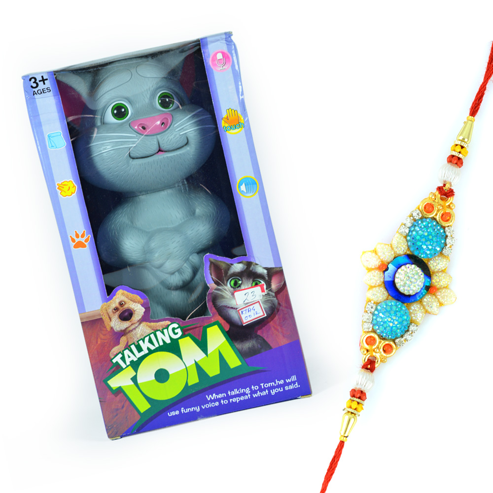 Talking TOM with Shining Designer Rakhi for Bhaiya
