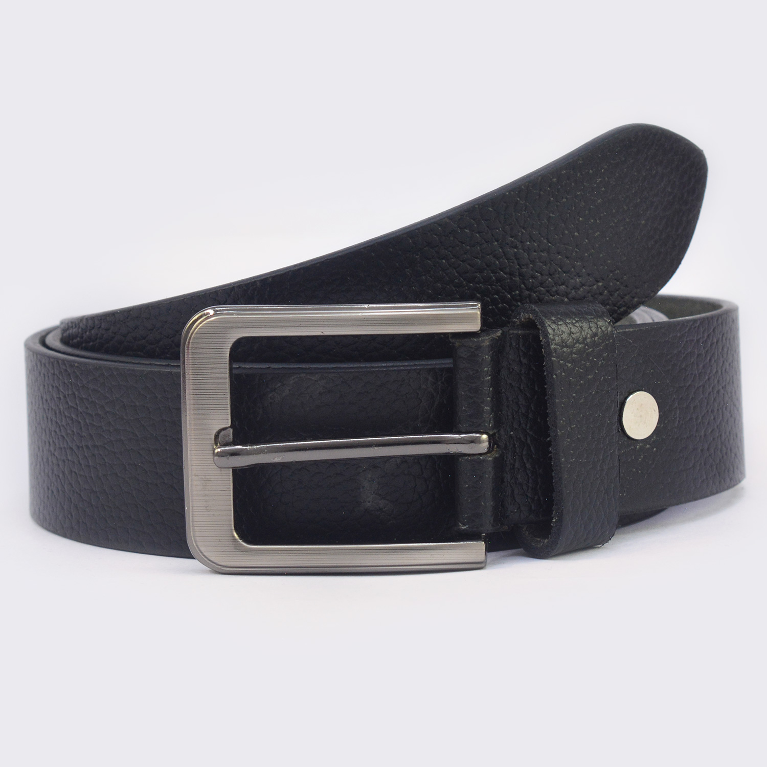 Black Color Amazing Looking Buckle Leather Belt