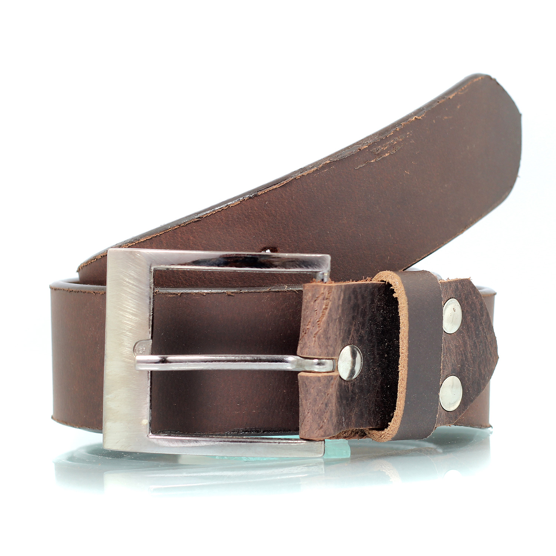Rough and Tough Design Pure Leather Designer Belt for Men