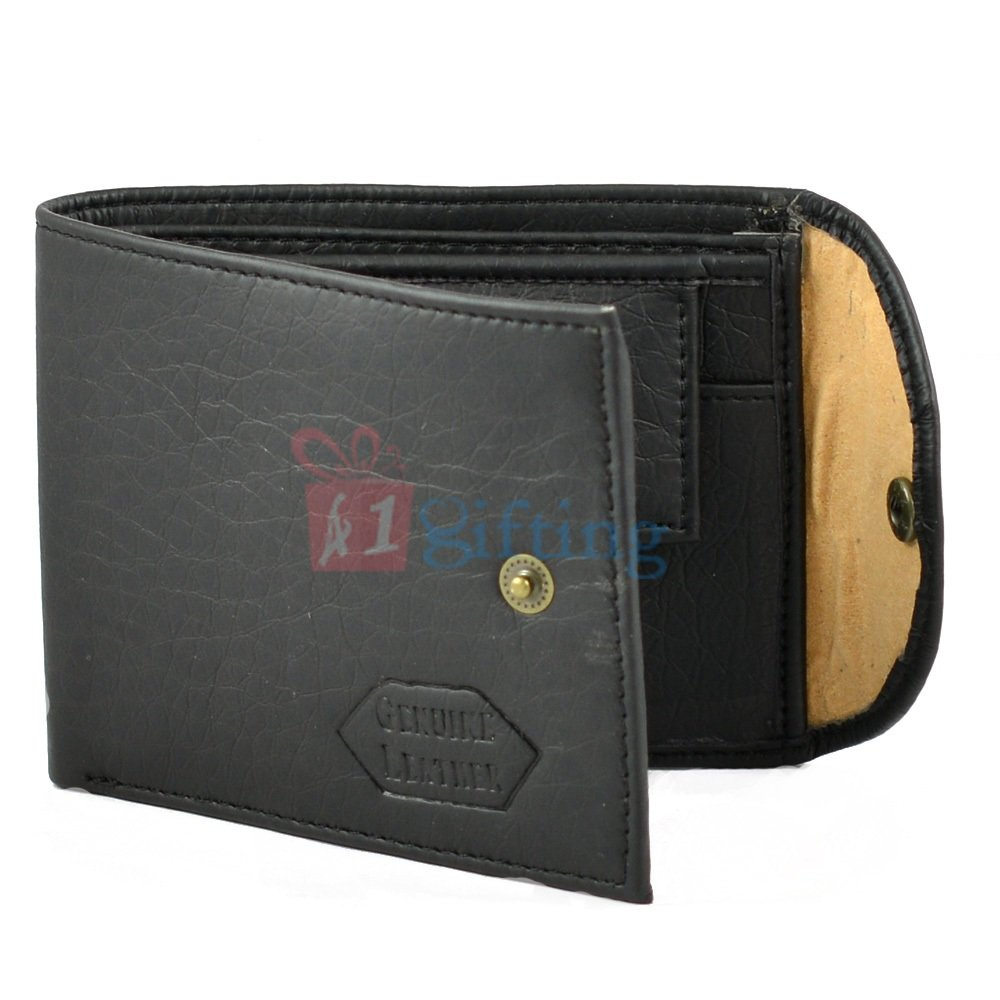 Casual Genuine Leather Wallet with Multi Pocket