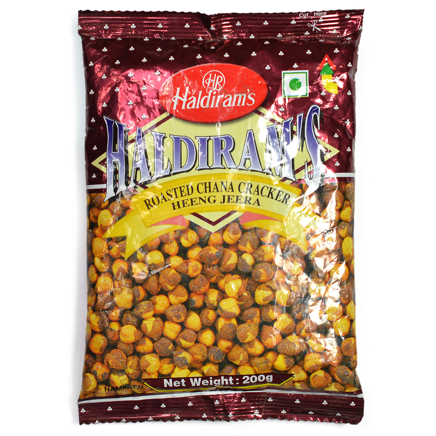 Roasted Chana Cracker Heeng Jeera by Haldiram