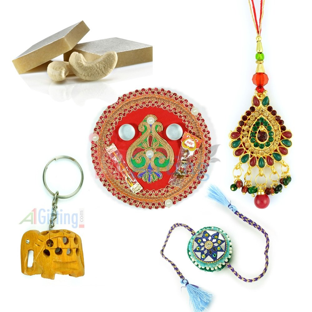 Amazing Gift with Handicraft Wooden Elephant Key Chain