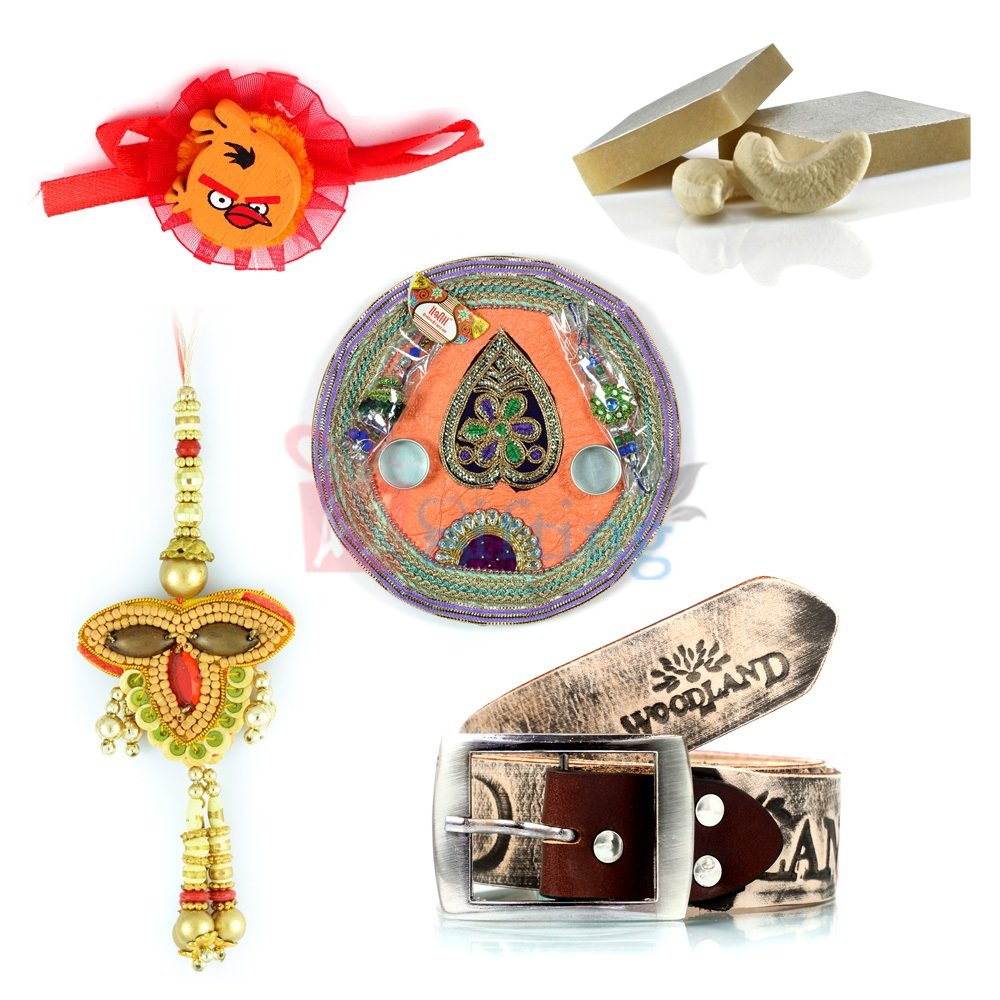 Suprising Rakhi Gift for Brother with Sweet and Rakhi Gifting Items