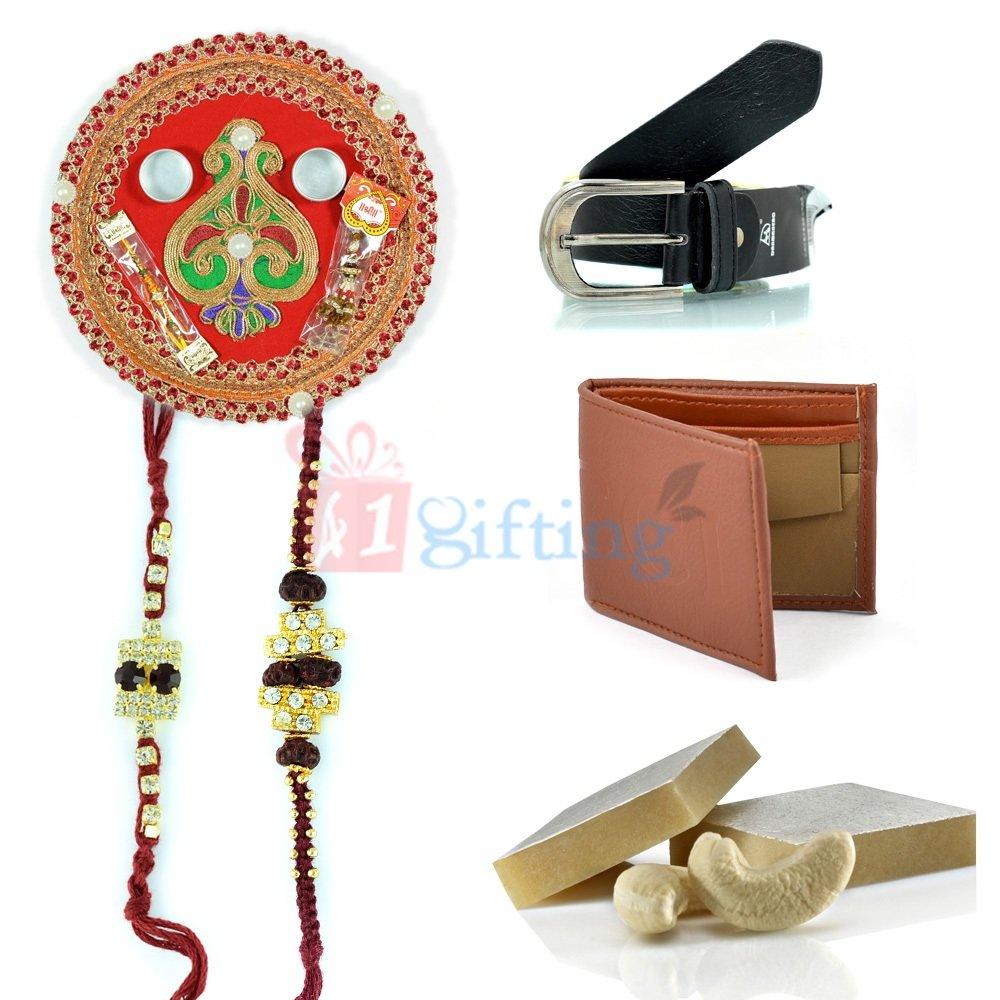 Amazing Rakhi Gifts with Sweet on Raksha Bandhan
