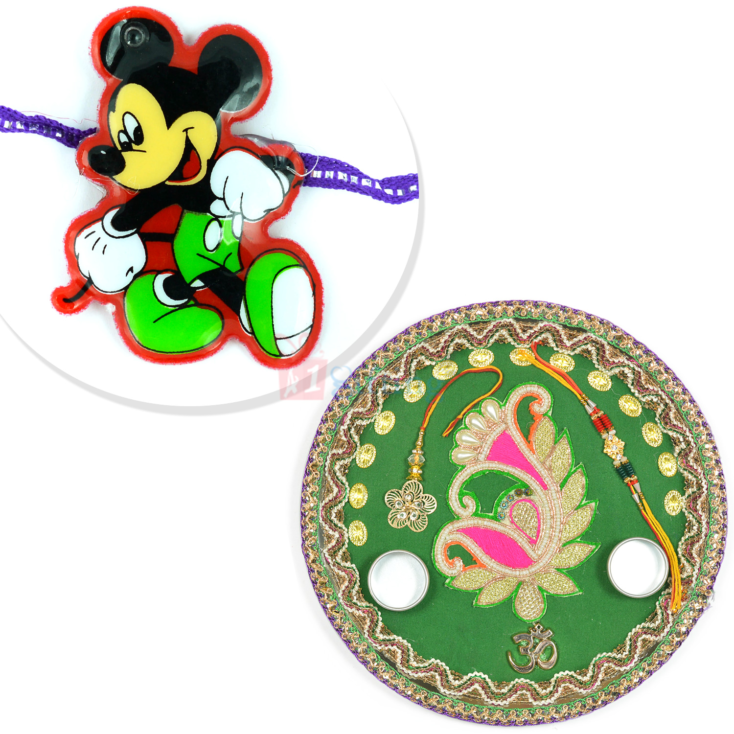 Special Rakhi Pooja Thali and Kids Rakhi Hamper