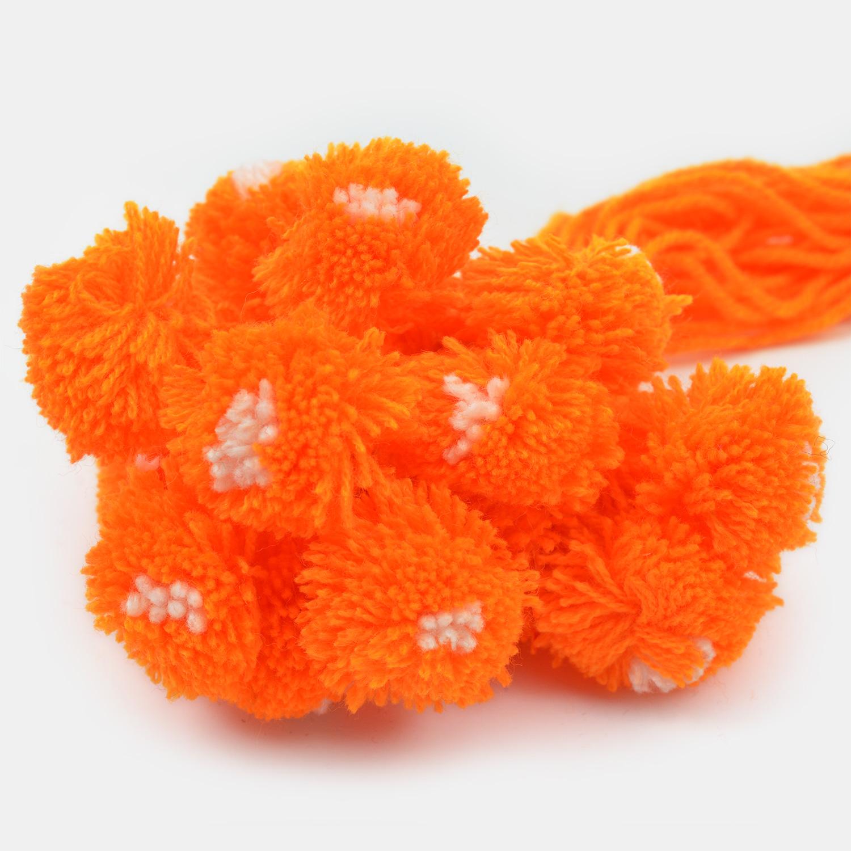 Traditional Orange Ram Rakhi Set of 20