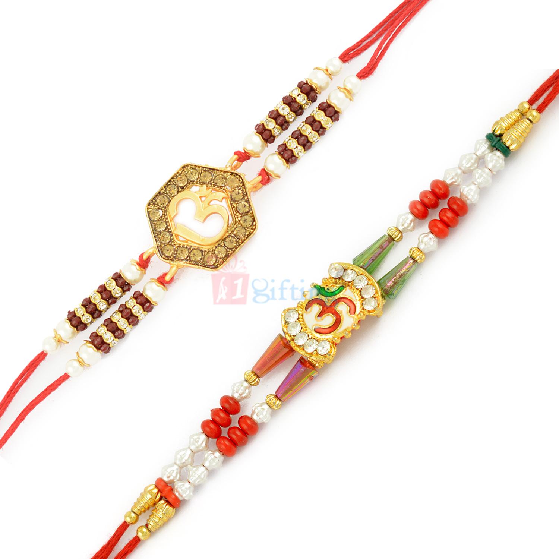 Awesome Rakhis of Om Divine Symbol