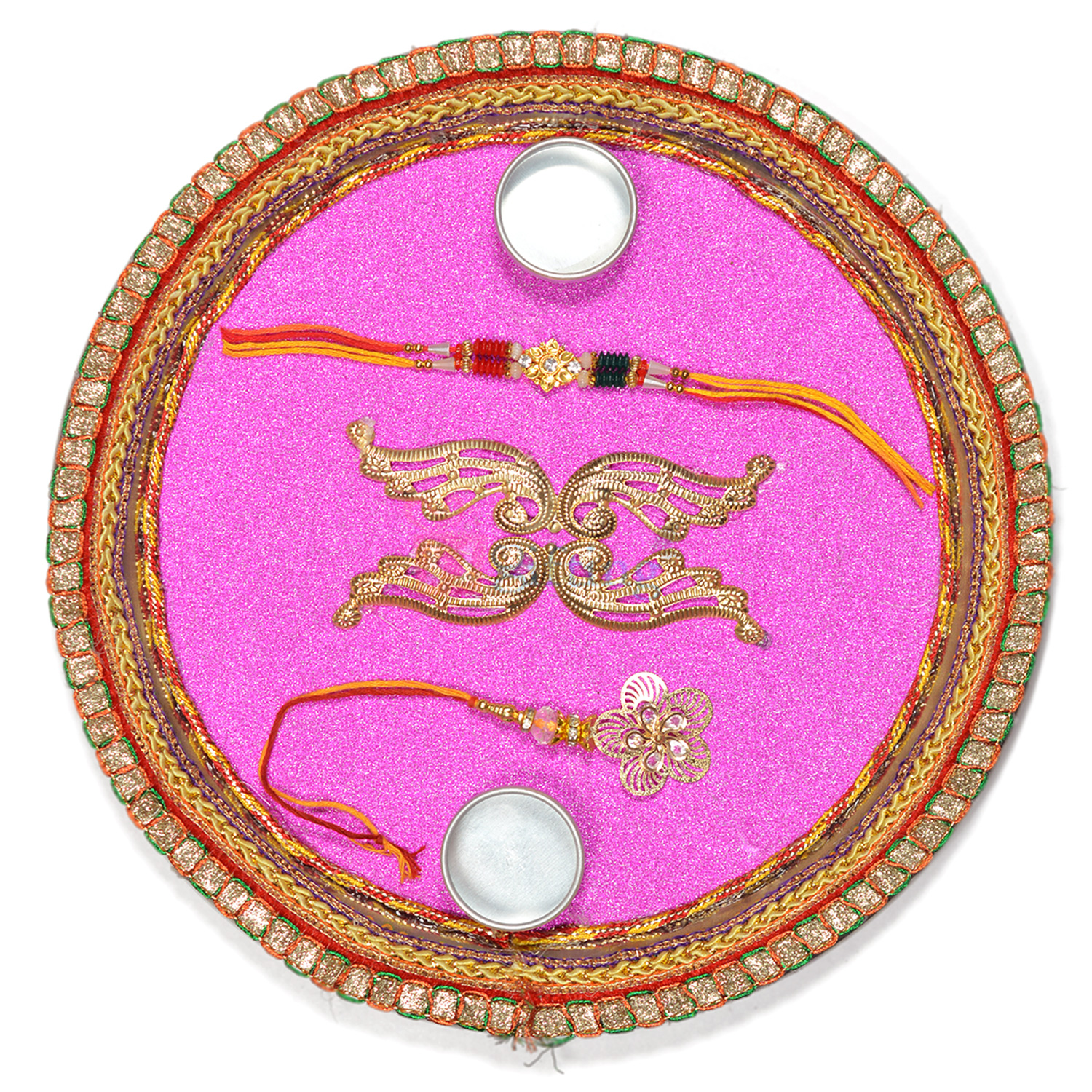 Simply Beautiful Rakhi Pooja Thali