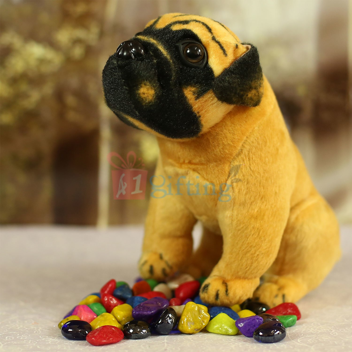 Pug Puppy Soft Toy for Kids