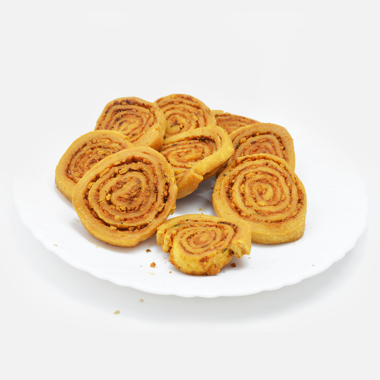 Sweet and Salty Homemade Bhakarwadi