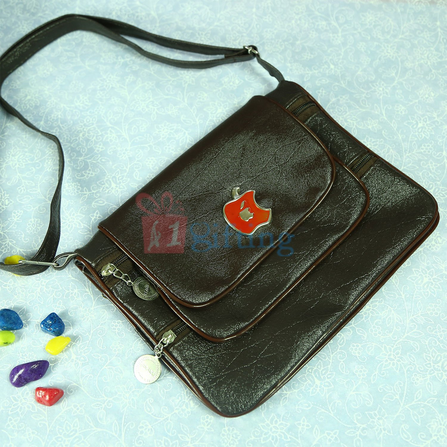 Beautiful Apple Hanging Bag Gift for Loving One