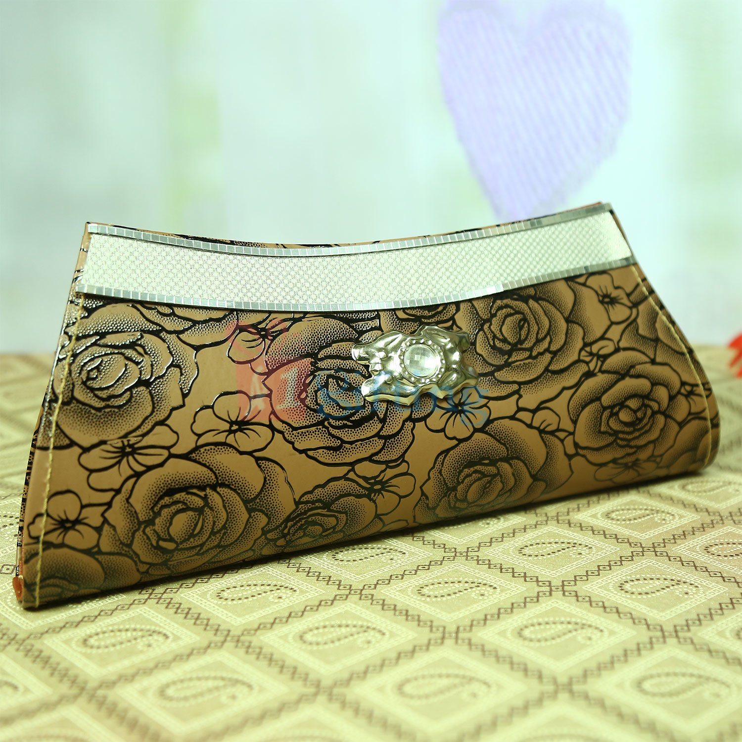 Floral Diamond Clutches Gift