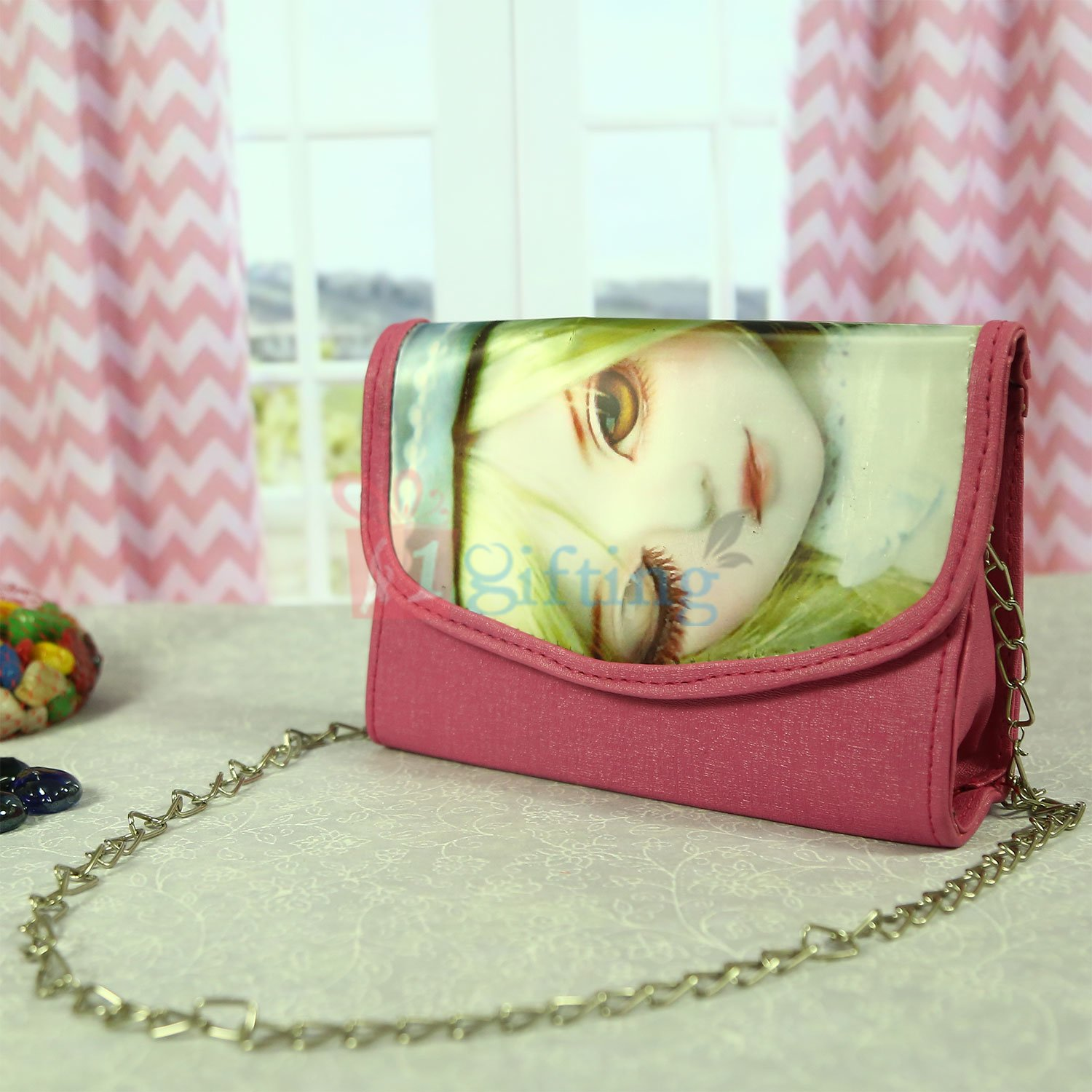 Fancy 3D Clutches Cum Hanging Bag