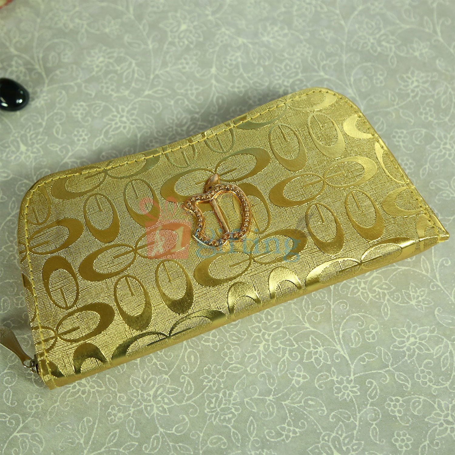 Golden Apple Clutches for Gift