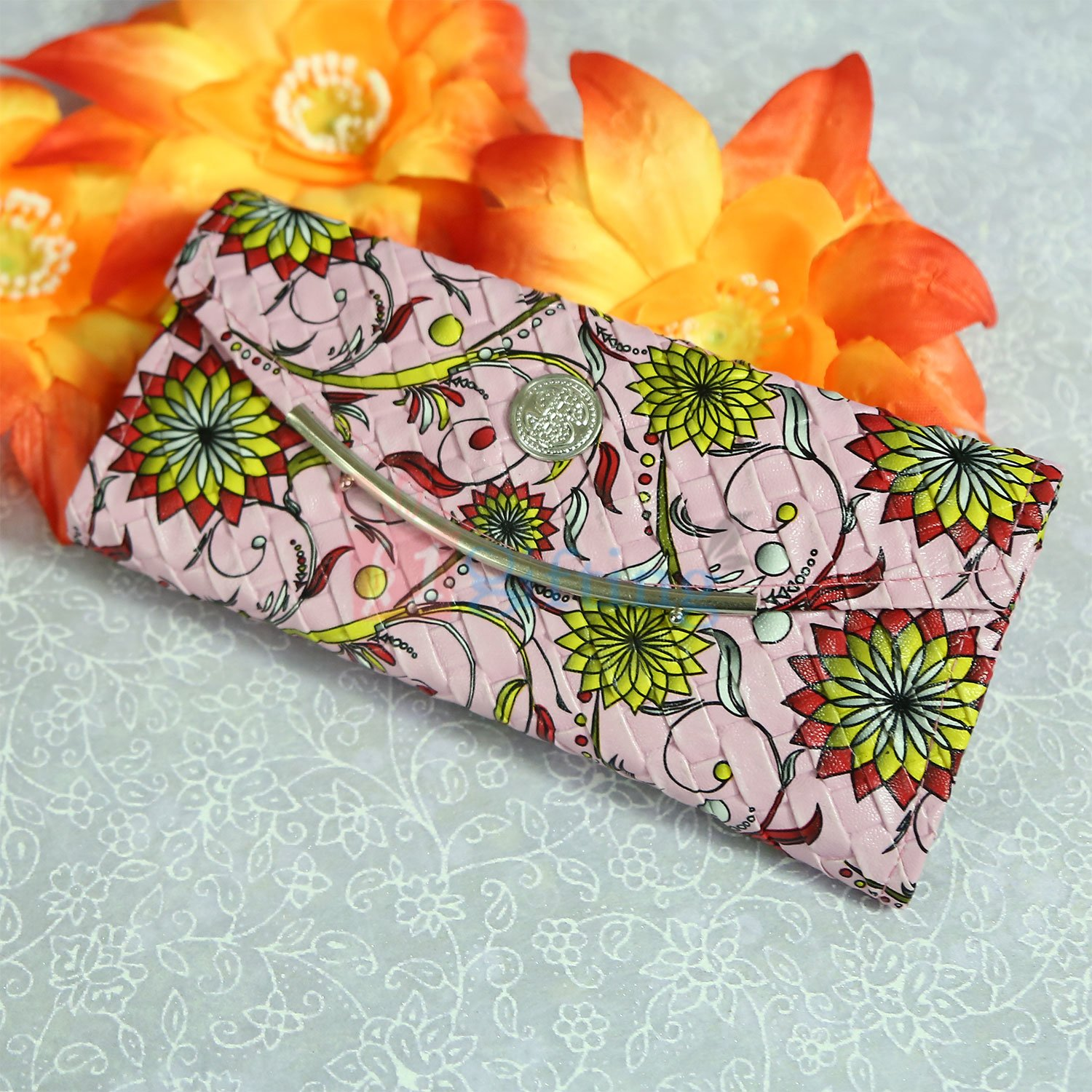 Floral Stylish Clutches for Ladies