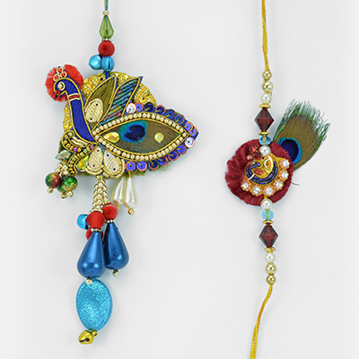 Mayur Masti- Beautiful and Traditional Looking Bhaiya Bhabhi Set