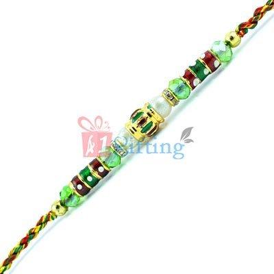 Beads Rakhi Online