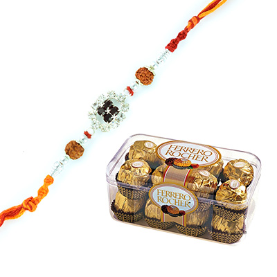 Rakhi with Chocolate Online
