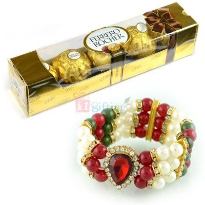 Rakhi Bracelet Gift Hampers to USA