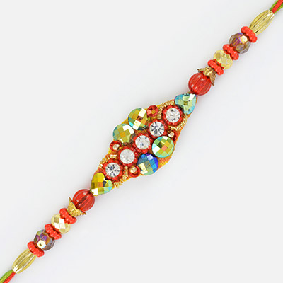 Colors of Rakhi- A Fancifuly Designed Colorful Rakhi for Brother
