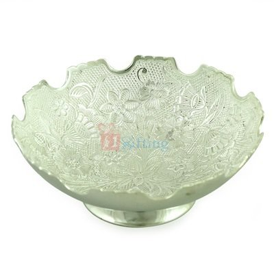 Designer Bowl of 6 Inch in Silver Plated