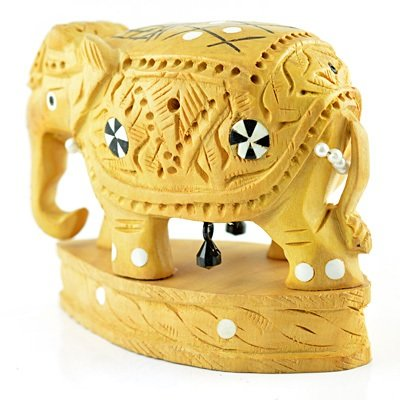 Artistic Handicraft Elephant Statue with Base