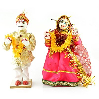 Handicraft Dulha-Dulhan-Decorative Statue