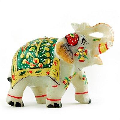 Amazing Marble Elephant Handicraft Gift-4 inches