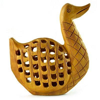 Latticed-Jalidar Duck Handicraft Gift Item