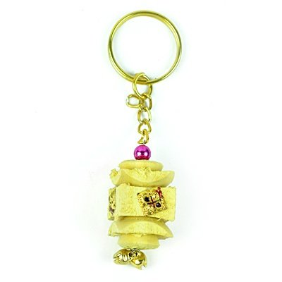 Wooden Handicraft Key Chain