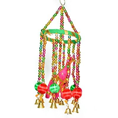 Beautiful Handcrafted Beads and Ball Hanging