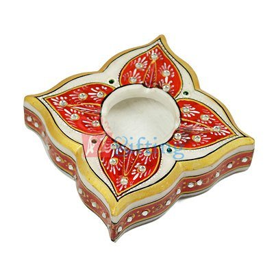 Square Marble Handicraft Ash Tray