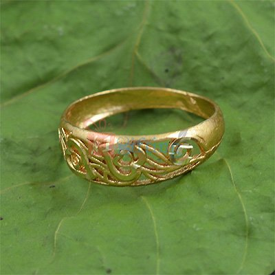 Simply Awesome Heart Embossed Ring