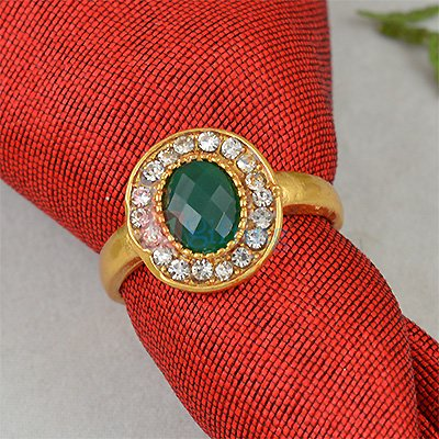 Diamond Studded Fancy Party Ring