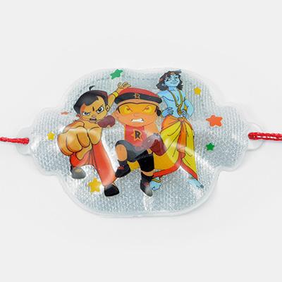 Chota Bheem with Mighty Raju and Krishna Rakhi