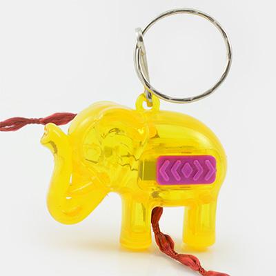 Lighting Elephant Keychain Rakhi