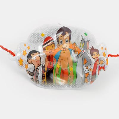 Mr Bean with Various cartoon character Rakhi for kids