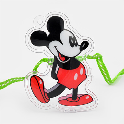 Mickey Mouse on Transparent Base Kids Rakhi