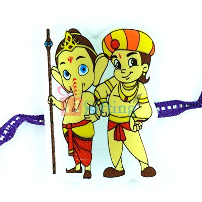 My Friend Ganesha Famous TV Cartoon Character Rakhi for Kids