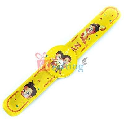 Maruti Special - Bal Hanuman Wrist Band Rakhi for Kids