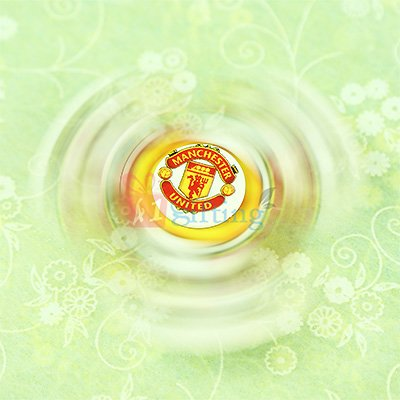Manchester United Football Spinner